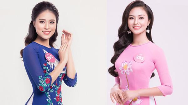 Nhan sắc 2 người đẹp Phú Thọ xuất sắc bước vào chung kết Hoa hậu Việt Nam 2018
