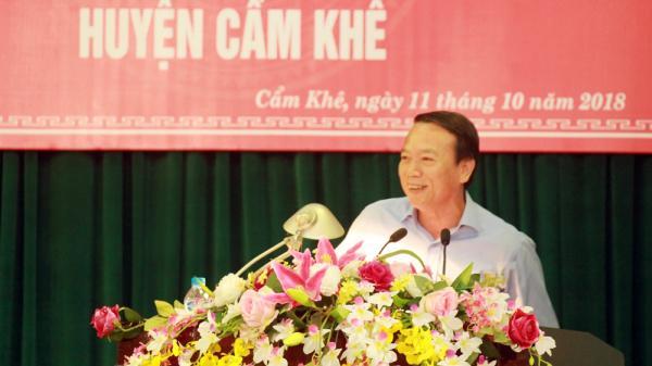 """Phú Thọ: Hội thảo """"Các giải pháp nâng cao chất lượng giáo dục huyện Cẩm Khê"""""""