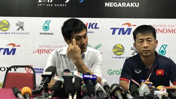 Thua đậm Thái Lan, HLV Hữu Thắng tuyên bố từ chức