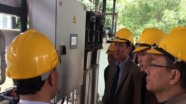 Giám sát việc xử lý chất thải công nghiệp tại Công ty Cổ phần Hóa chất
