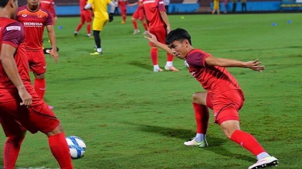 U23 Việt Nam thử sân Phú Thọ trước trận giao hữu với Myanmar