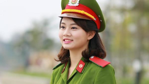 Chân dung nữ sinh Phú Thọ xinh đẹp đập vỡ ngói trở thành Hoa khôi CĐ Cảnh sát nhân dân I