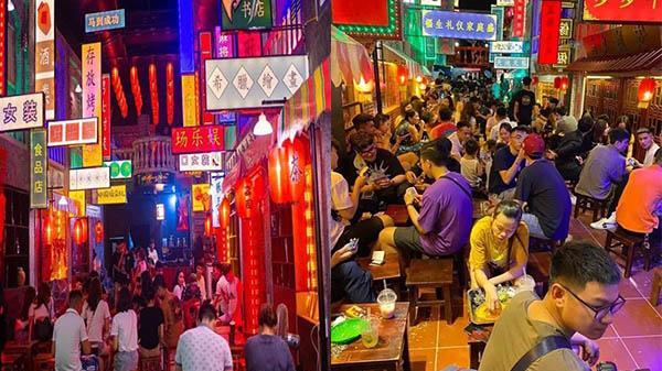 Cực HOT ở Phú Thọ: Hẻm bia phiên bản Hong Kong lần đầu tiên xuất hiện tại Việt Trì