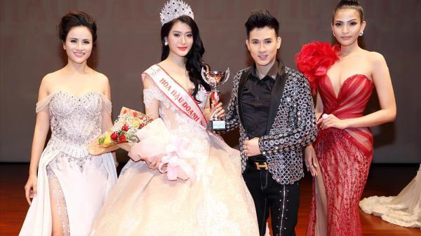 Người đẹp gốc Phú Yên đăng quang Hoa hậu doanh nhân Việt toàn cầu