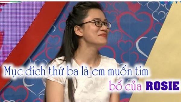 Cô gái Phú Yên xinh đẹp đến 'Bạn muốn hẹn hò' tìm bố cho con gái