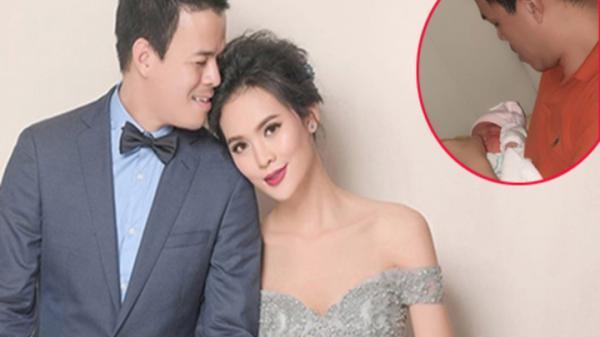 Người đẹp Phú Yên kể chuyện chồng đại gia lóng ngóng chăm con sơ sinh