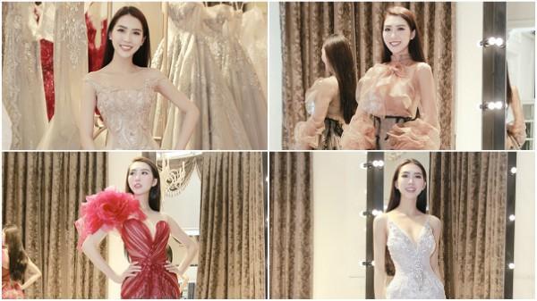 Người đẹp Phú Yên mang hơn 50 bộ trang phục đi thi Hoa hậu Liên lục địa