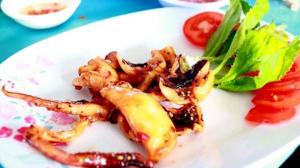 Phú Yên: Ngon ngọt mực một nắng