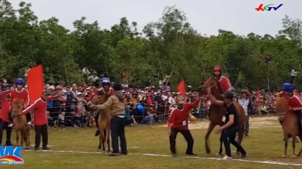 """Thú vị cuộc đua ngựa """"quý tộc"""" ở vùng quê Phú Yên"""