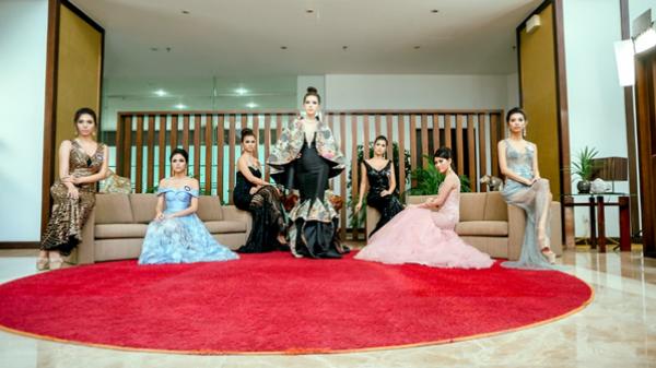 Ngắm người đẹp ASEAN trong trang phục dạ hội