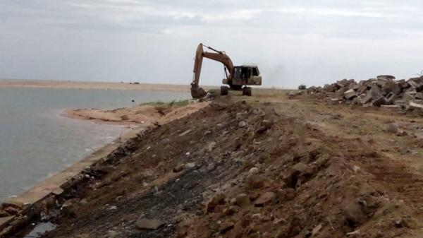 Phú Yên: Gần 56 tỉ đồng xử lý sụt lún kè bờ nam hạ lưu sông Đà Rằng