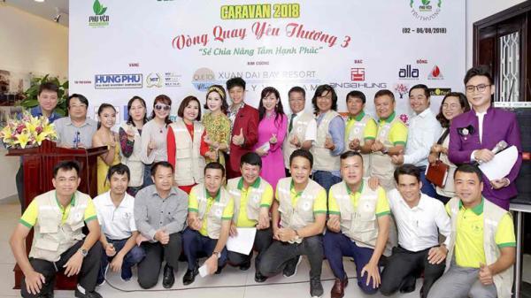 CLB Doanh nhân Phú Yên tại TP. Hồ Chí Minh: Công bố chương trình Caravan Vòng quay yêu thương