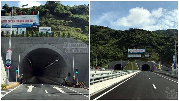Phú Yên: Chính thức thông xe toàn tuyến hầm đường bộ Đèo Cả