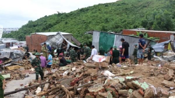 Số người c.h.ế.t và mất tích do mưa lũ ở Khánh Hòa tăng lên 17 người