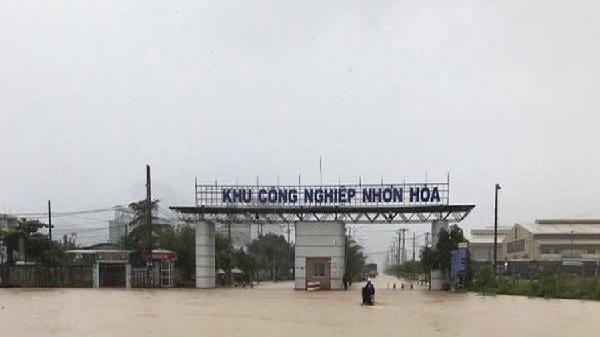 Dự báo thời tiết ngày 10/12: Mưa lớn, ngập úng nhiều nơi từ Đà Nẵng đến Bình Định