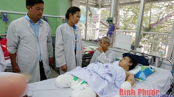 Tiếp thêm nghị lực sống cho chị Dương Thị Thắm