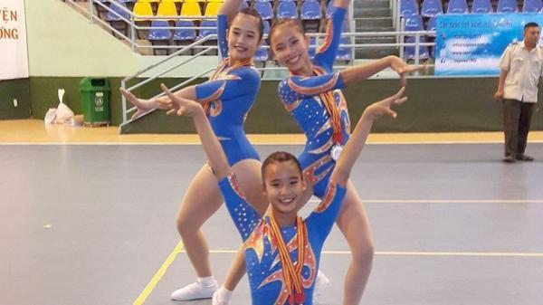 Phú Yên đạt 1 HCV, 2 HCB tại Giải vô địch cúp các CLB thể dục Aerobic toàn quốc năm 2017