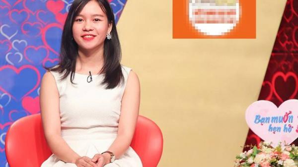 """Cô nàng Phú Yên xinh đẹp làm khuấy đảo chương trình """"Bạn muốn hẹn hò"""""""