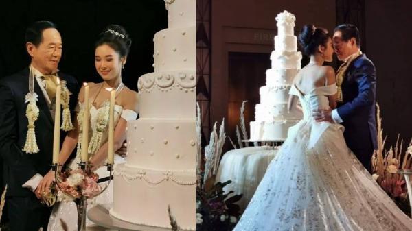 Chú rể 70 tuổi đại gia còn là 'trai tân' kết hôn cô dâu 20 tuổi trong đám cưới xa hoa