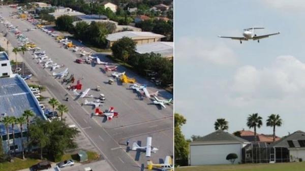 Thị trấn giàu có hàng đầu thế giới: Nhà nào cũng có máy bay riêng để đi làm, ăn sáng