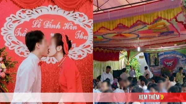 Lấy được vợ đẹp chú rể khóa môi đắm đuối trước 2 họ, 'hôn nhầm lên cả mũi cô dâu'