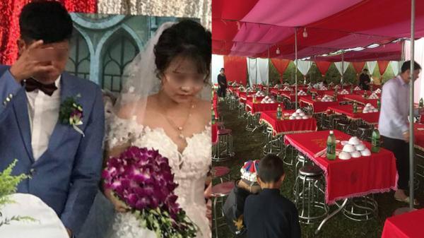 Đám cưới 'ế': Chú rể 'khóc ròng' vì mời 200 khách nhưng chỉ đến đủ 5 mâm