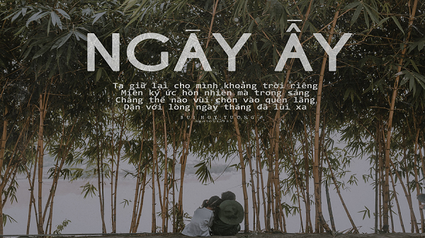 """Không hào nhoáng, xa hoa, tình yêu """"NGÀY ẤY"""" của chàng nhiếp ảnh gia 9X Quảng Bình vẫn thật đẹp và bình dị!"""