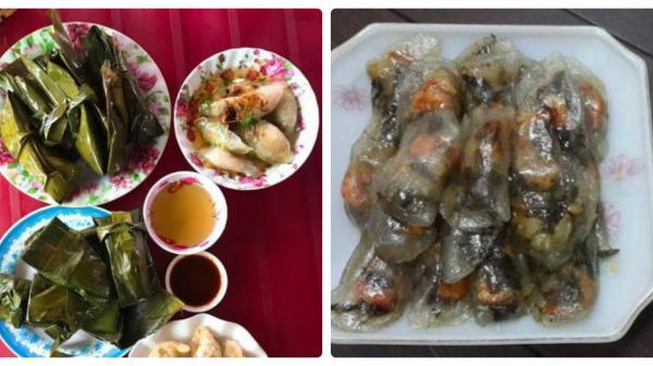 Bánh bột lọc Quảng Bình hấp dẫn thực khách phương xa