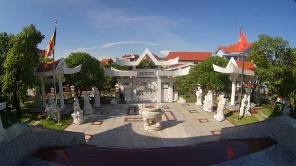 Về thăm ngôi chùa trắng có kiến trúc độc lạ hiếm thấy ở Quảng Bình