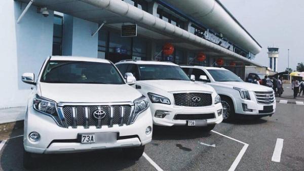 CHÙM ẢNH: Cận cảnh dàn xe sang lăn bánh trên vùng đất Quảng Bình