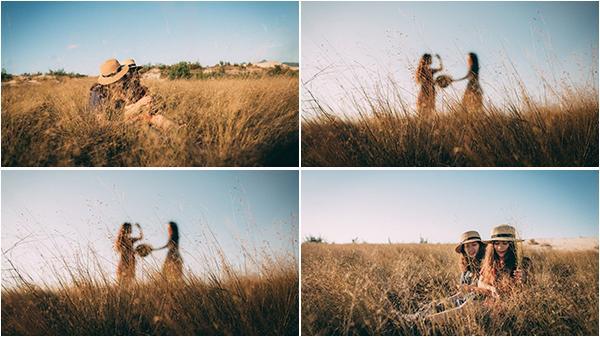 Chỉ là đồi cỏ khô ở dọc đường đến biển thôi, có nhất thiết phải đẹp thế không, Quảng Bình ơi!