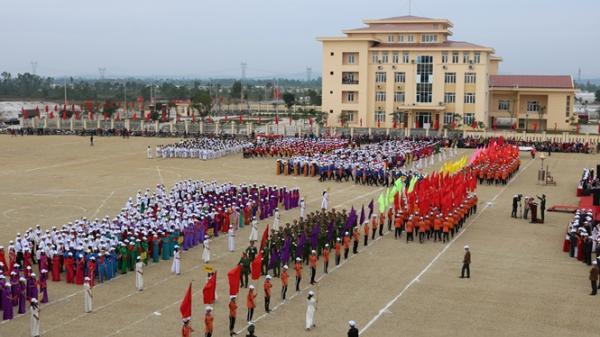 Quảng Trạch tổ chức Đại hội Thể dục - Thể thao lần thứ VIII