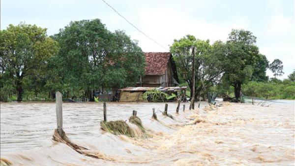Cảnh báo lũ trên các sông Bắc Bộ và từ Quảng Bình đến Bình Định