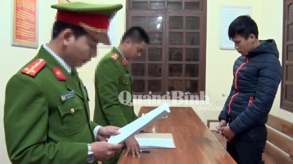 Quảng Bình: Bắt khẩn cấp đối tượng trộm cắp tài sản