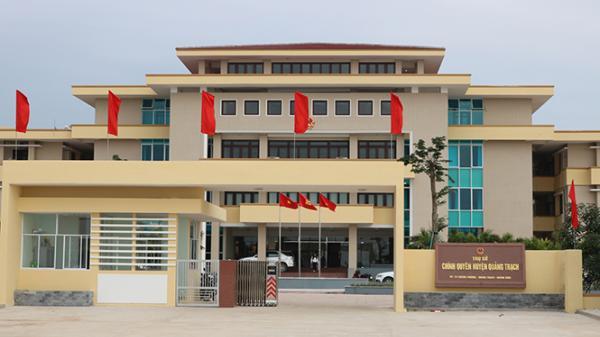 Trung tâm huyện lỵ Quảng Trạch: Đô thị của tương lai