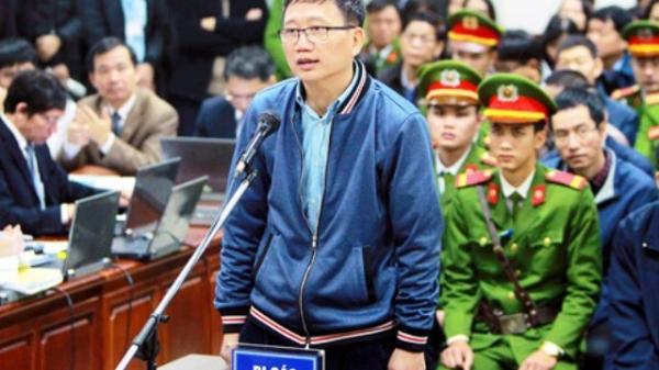 Trịnh Xuân Thanh không thừa nhận tham ô để lấy tiền tiêu Tết