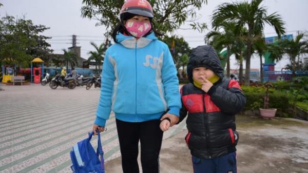 Nhiệt độ xuống thấp, hàng trăm học sinh miền núi Quảng Bình được nghỉ học