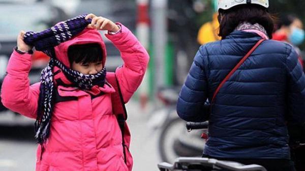 Gần 8.000 học sinh Quảng Bình phải nghỉ học tránh rét