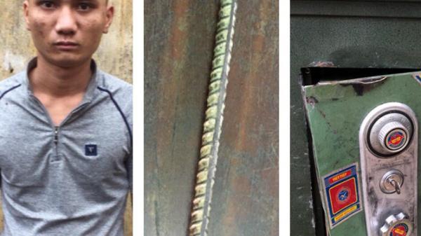 Công an huyện Bố Trạch khởi tố đối tượng cạy két sắt, lấy trộm tiền