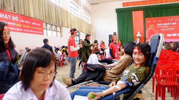 Ấm áp ngày 'Chủ nhật đỏ' năm 2018 tại Quảng Bình