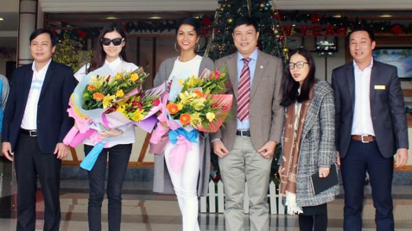 Chào đón tân Hoa hậu Hoàn vũ Việt Nam H'Hen Niê đến Quảng Bình