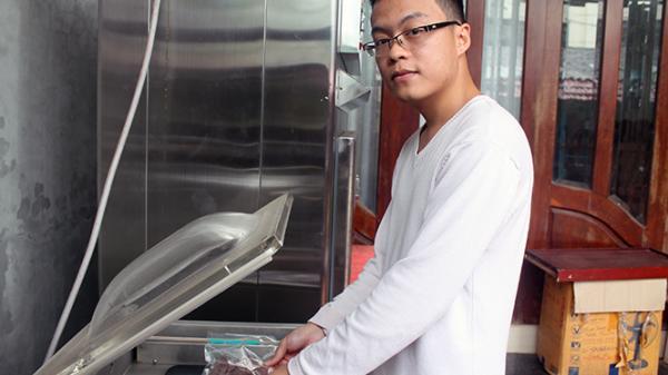 Chàng trai Quảng Bình khởi nghiệp từ khoai deo