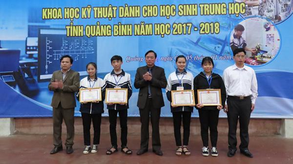 Sáng tạo bất ngờ của học sinh Quảng Bình