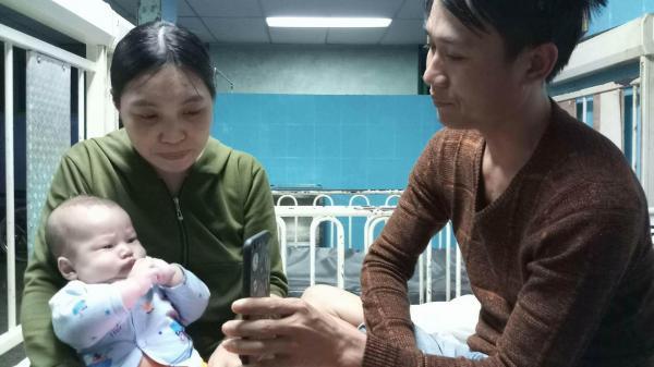 Hy hữu bé trai 3 tháng tuổi ở Quảng Bình có quả tim nằm bên phải