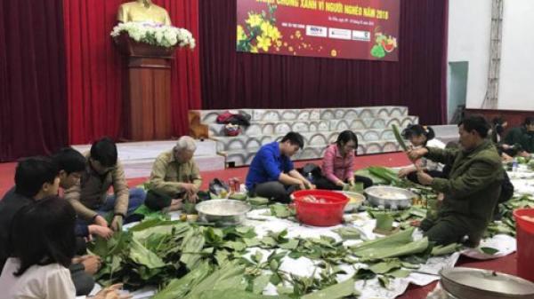 Quảng Bình: Thanh niên Ba Đồn tặng 1000 cặp bánh chưng cho người nghèo