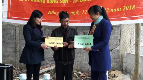 TP. Đồng Hới: Trao nhà tình nghĩa cho hộ nghèo trước Tết Mậu Tuất năm 2018