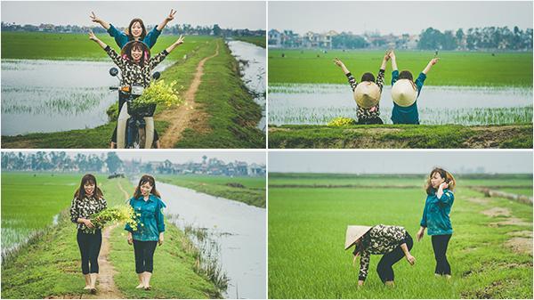 Mùa xuân trên những cánh đồng lúa - bộ ảnh khiến bất cứ người con Quảng Bình nào cũng thổn thức nhớ nhà