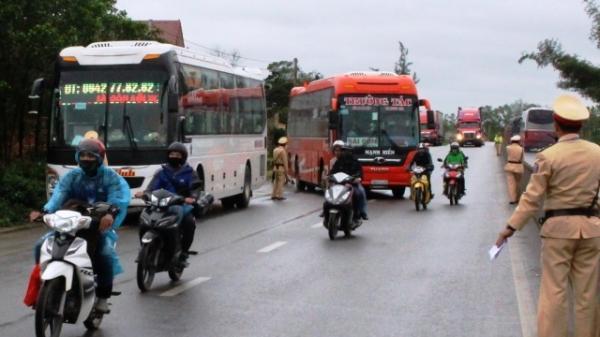 Quảng Bình xử phạt 92 xe khách vi phạm