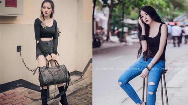 Cô gái Quảng Bình với guu thời trang 'đen mà chất'