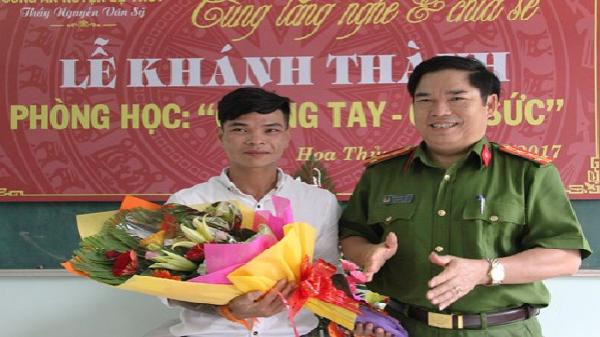 Quảng Bình: Phòng học đặc biệt của 'thầy giáo' hoàn lương